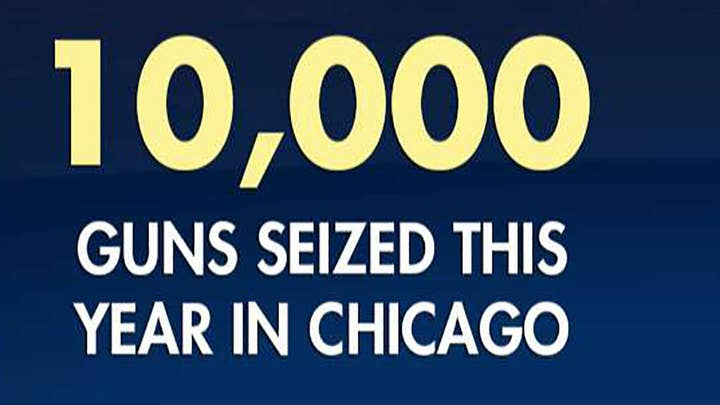 Over 10K illegal guns taken off Chicago streets