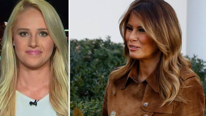 Tomi Lahren sounds off after Melania Trump is booed at youth event