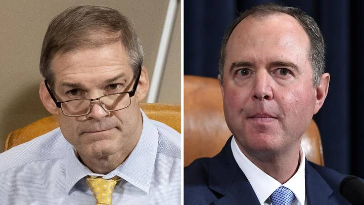 Schiff, Jordan spar over who was more loose-lipped on closed impeachment hearings