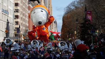 Macy's Thanksgiving Parade balloons fly amid earlier weather worries