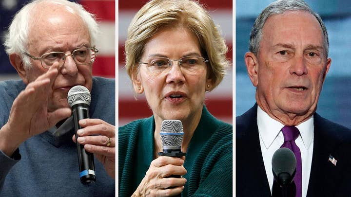 2020 Democrats attack billionaire Bloomberg, insist they aren't rich