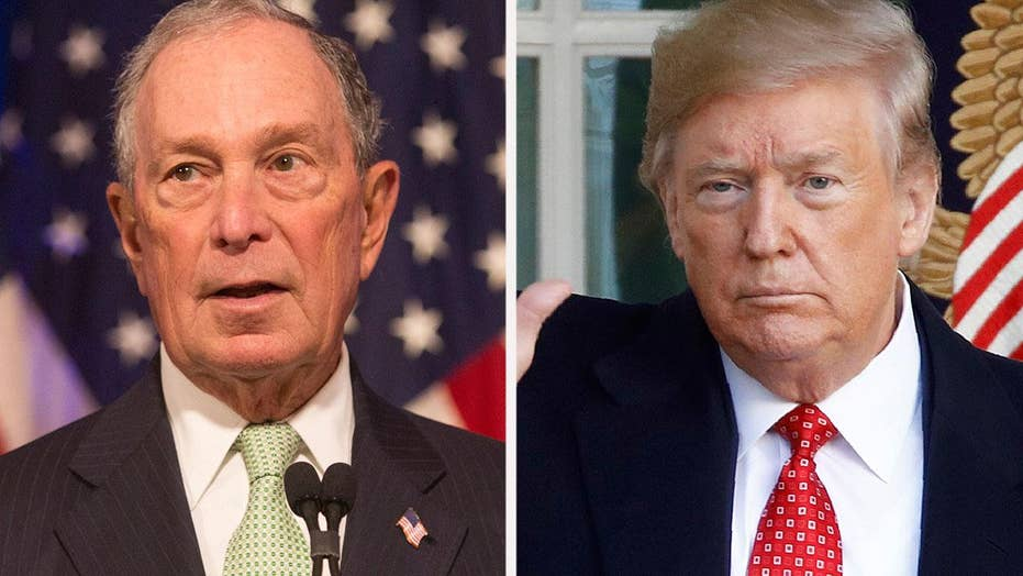 2020 hopeful Michael Bloomberg slams Trump for immigration policies