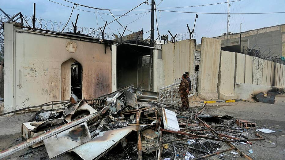 Iraqi protesters killed after Iranian consulate set on fire