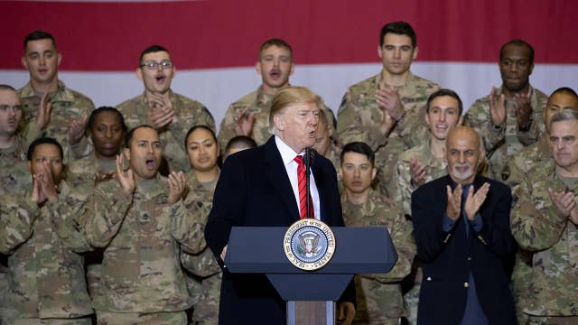 President Trump says the Taliban wants to make a deal in Afghanistan
