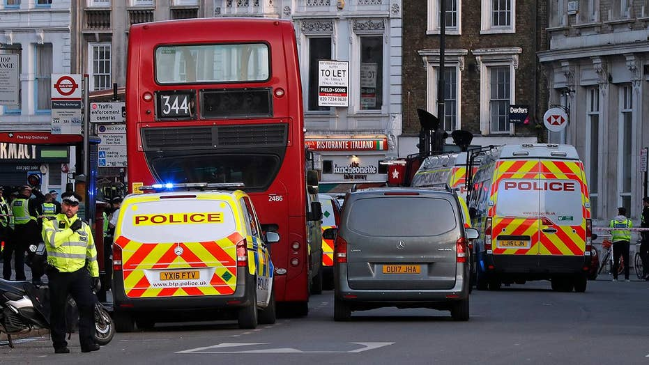 Police: Suspect detained at London Bridge after multiple people stabbed