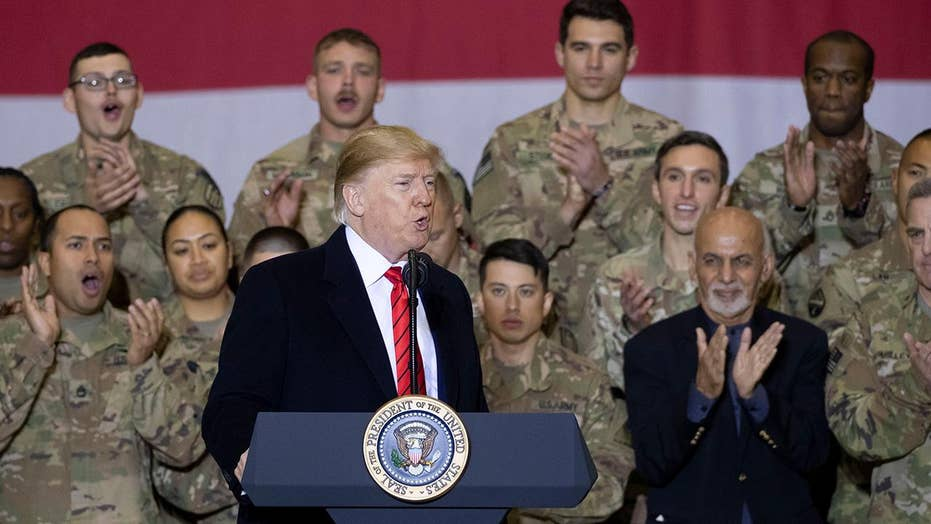 Incredible security measures behind President Trump's Thanksgiving trip to Afghanistan