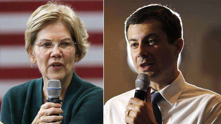 Moderate Democrats surge in 2020 polls over progressive candidates