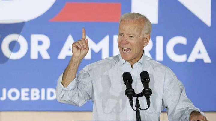 Biden launches 8-day bus tour in Iowa as Buttigieg leads in the state