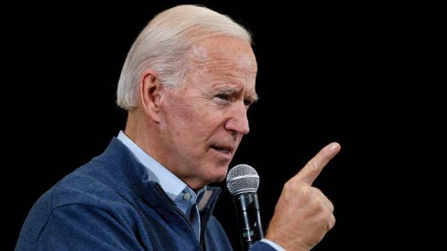 Joe Biden touts national polling numbers as he kicks off 'no malarkey' bus tour in Iowa