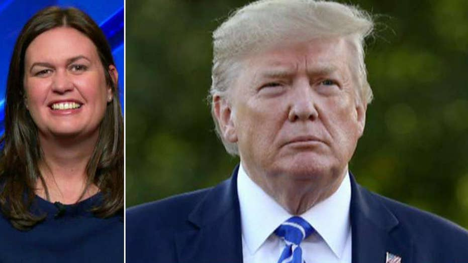 Sarah Sanders: No surprise that voters are souring on impeachment