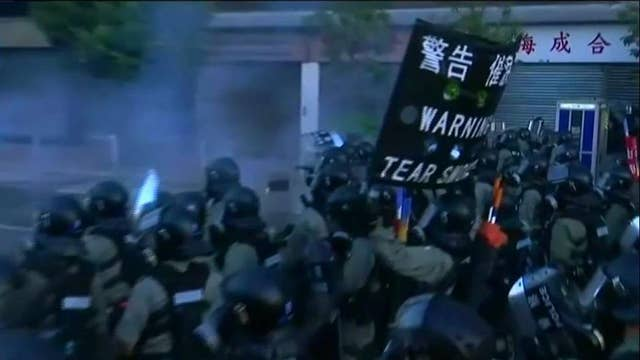 China retaliates against US for Hong Kong support