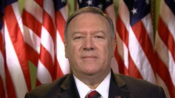 Mike Pompeo: Trump admin 'relentless' in pursuing Ukraine objective