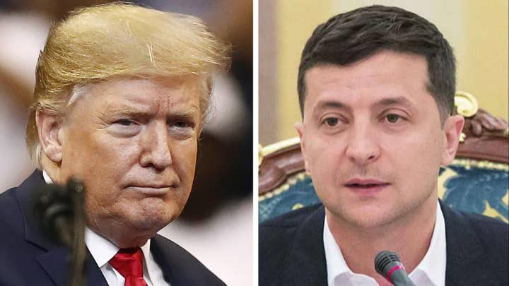 President Trump touts Ukrainian President Zelensky's denial of quid pro quo