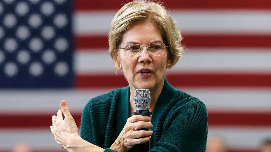 Pundits say Warren slipping