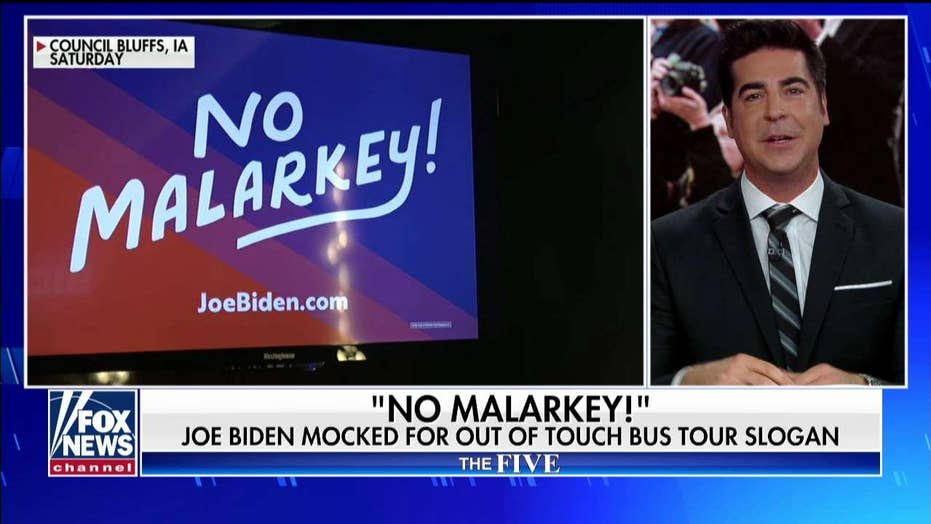 Jesse Watters: With Biden, America is watching a presidential campaign fail in 'real time'