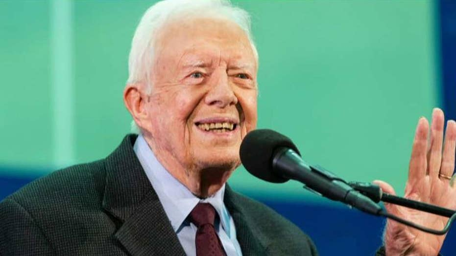 Former President Jimmy Carter admitted to Georgia hospital