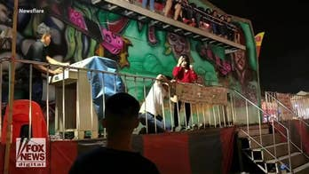 5 people thrown from carnival ride in Thailand after safety bar malfunctions