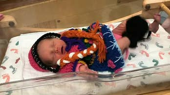 Maternity ward dresses newborns as 'Frozen 2' characters