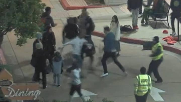 Teens accused of stealing cell phone attack off-duty cop at California mall