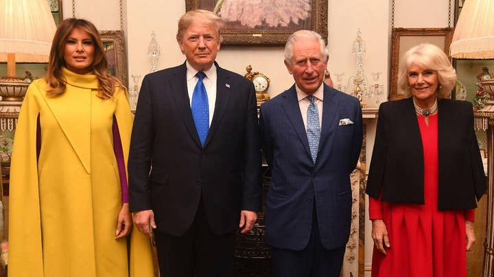 Trump meeting with Prince Charles after Prince Andrew accuser speaks out