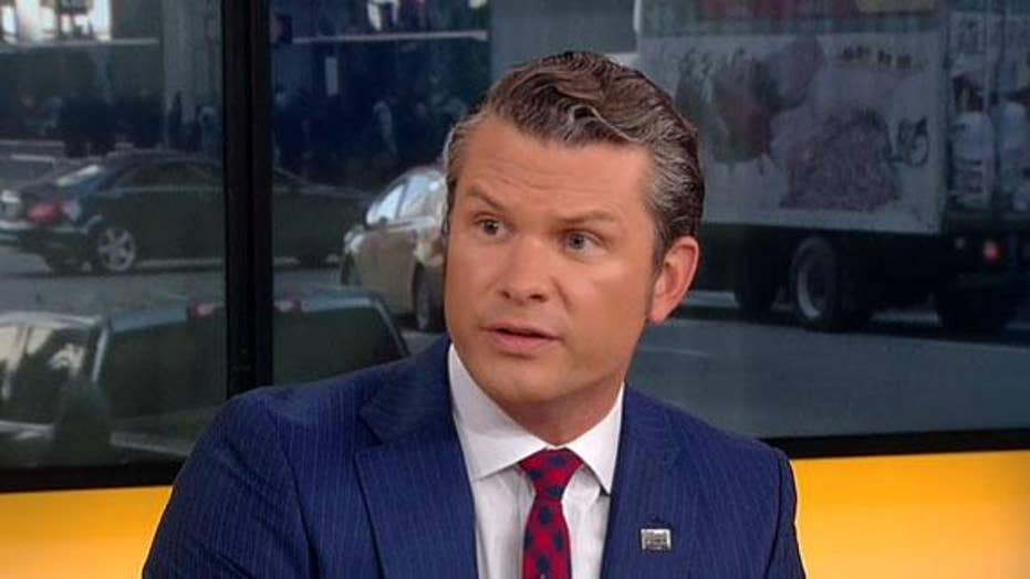 Pete Hegseth: Trump & Macron both speaking 'truths' about NATO