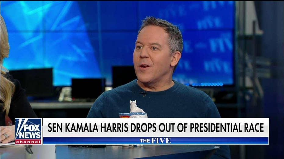 Greg Gutfeld: 'Big jerk' Kamala Harris 'blamed the American public' for her failure
