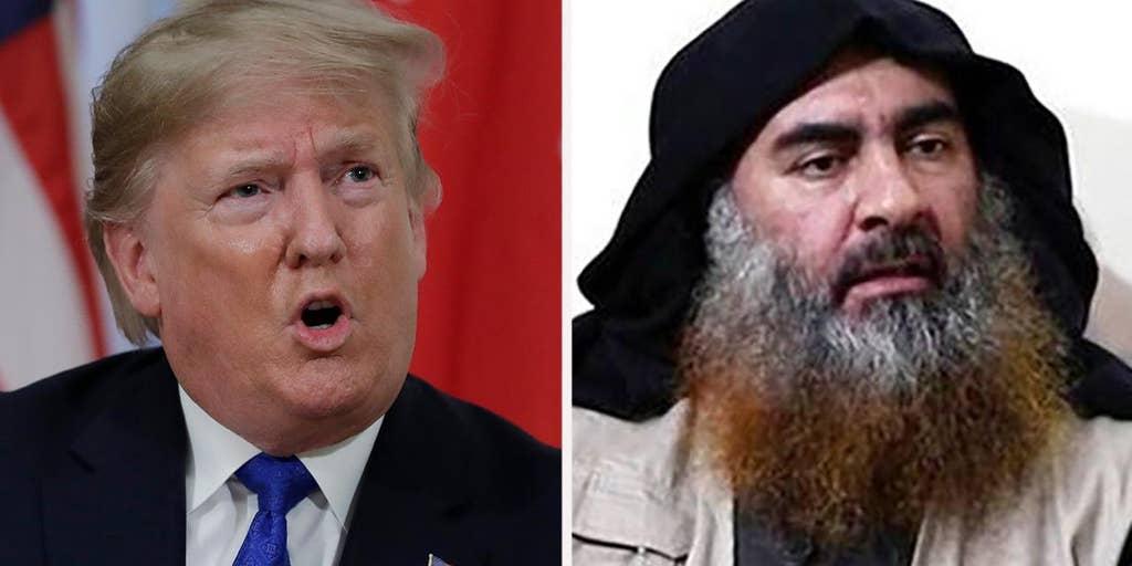 Trump meets with Army unit that conducted Al-Baghdadi raid, awards citation
