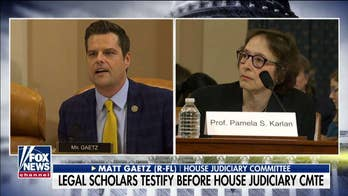 Gregg Jarrett: Impeachment-obsessed Democrats ignore logic and law as 4 professors testify at hearing