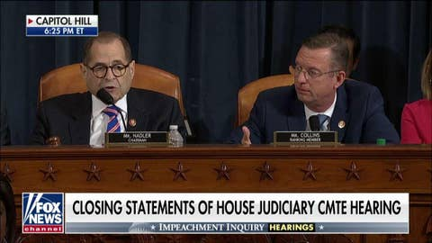 Rep. Collins presses Nadler over demand for Republican day of witnesses