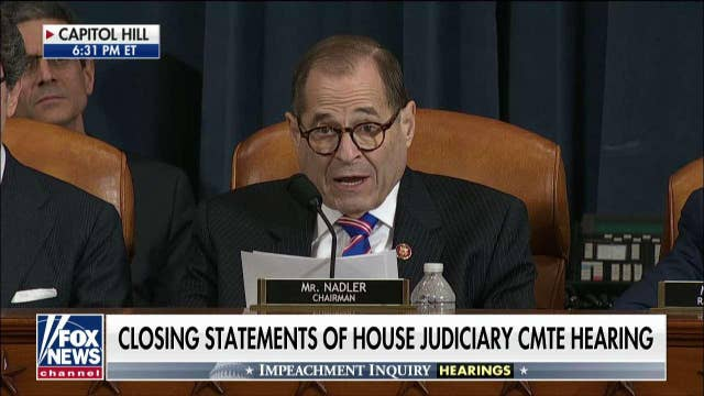 Doug Collins spars with Jerry Nadler after Louie Gohmert tries to speak
