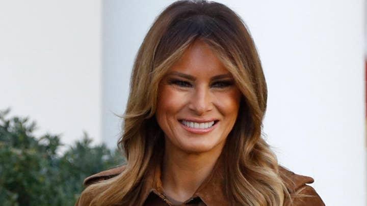 Media critics attack Melania Trump for White House Christmas decorations