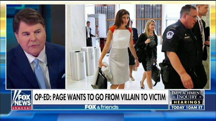Gregg Jarrett: Why the 'fix was in' with Lisa Page and Peter Strzok