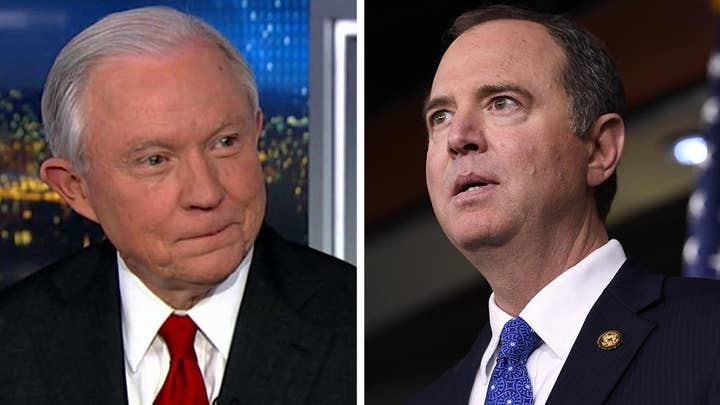 Jeff Sessions says Adam Schiff is obsessed with impeachment, Democrats have lost their objectivity