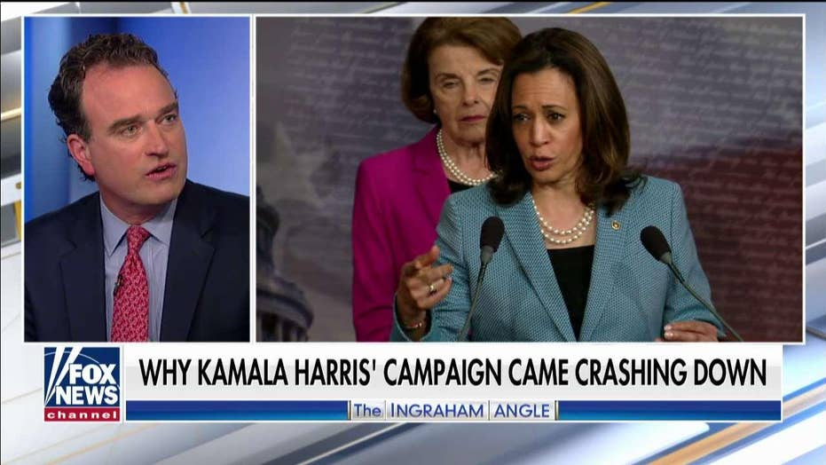 Charles Hurt: Pundits who said Kamala Harris was the 'one to beat' also doubted Trump in 2016