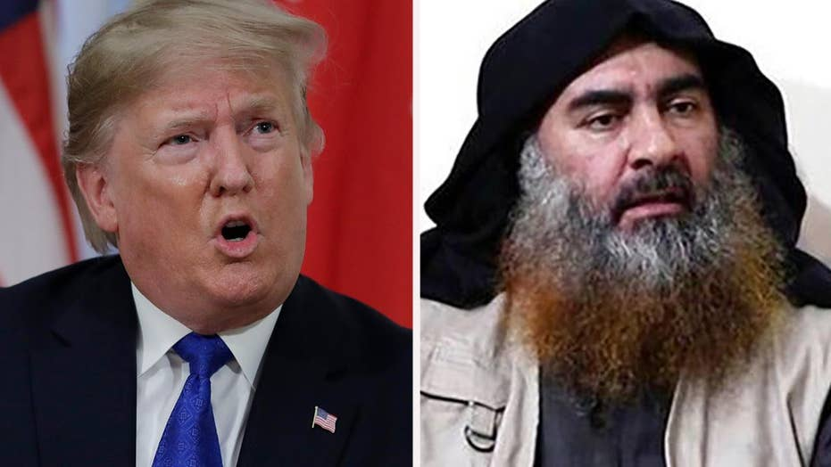 Trump meets with Army unit that conducted Al-Baghdadi raid, awards citation