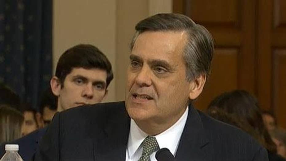 Turley calls out Dems: 'It's your abuse of power'
