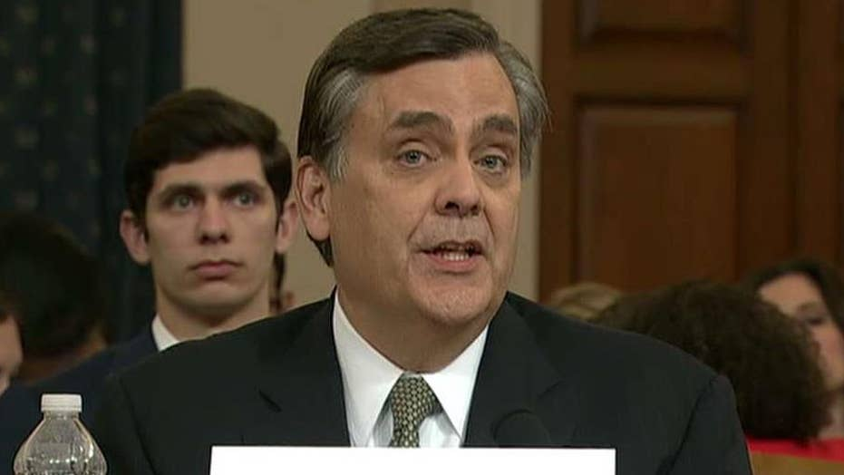 Martha MacCallum says Jonathan Turley is laying out a cautionary tale on impeachment