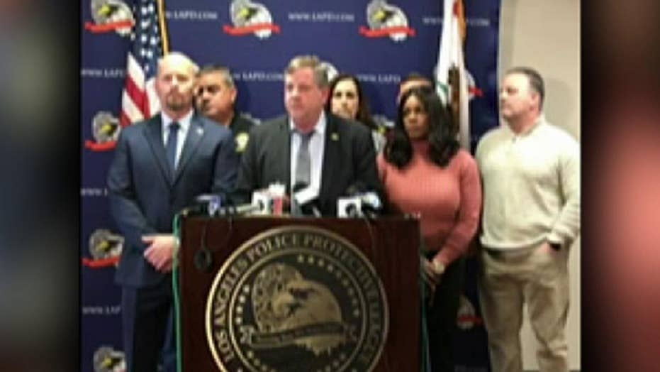 Los Angeles Police Protective League condemns alleged fondling of corpse