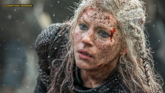 'Vikings' star Katheryn Winnick says creator Michael Hirst received death threats over Lagertha's fate