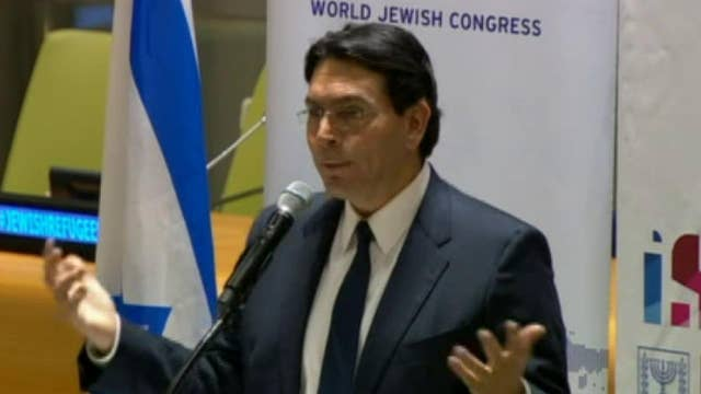 Danny Danon says UN fights for Palestinian refugees, but forgets about Jewish refugees