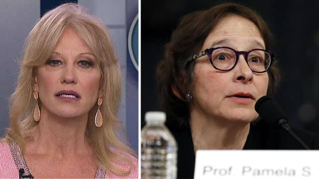 Kellyanne Conway slams Pamela Karlan: 'Who the hell are you lady to look down at half of the country'