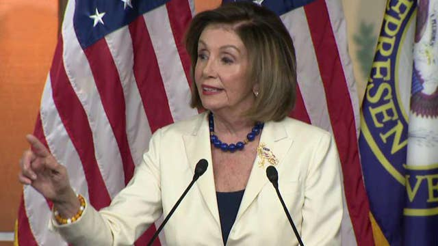 Pelosi rejects claim that impeachment inquiry is based on Democrats' dislike for Trump: I don't hate anyone