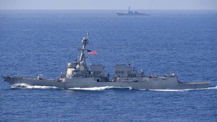 US Navy seizes suspected Iranian missile parts bound for Yemen
