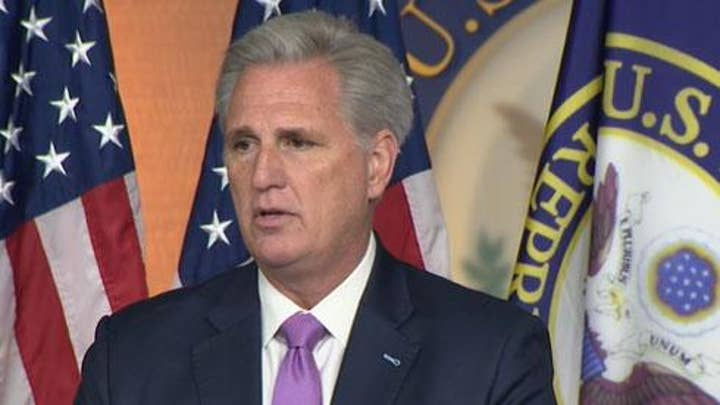 Kevin McCarthy: 'This is the day Hamilton feared'