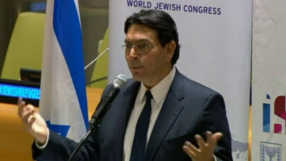 Danny Danon says UN fights for Palestinian refugees, but forgets about Israeli refugees