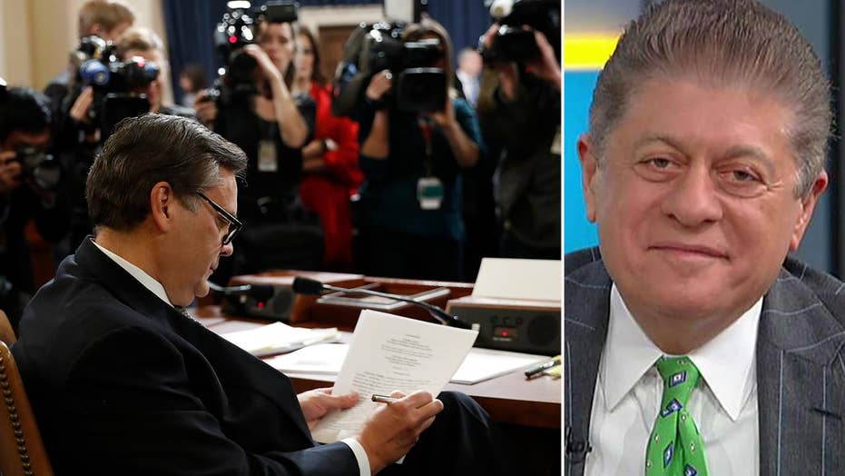 Napolitano recaps impeachment hearing: Nothing was accomplished but some new things were learned