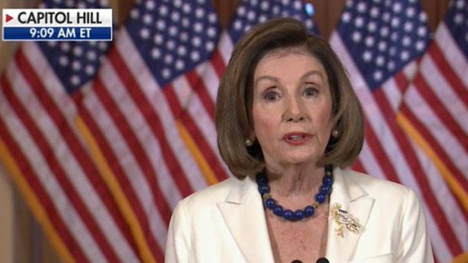Pelosi announces House proceeding with articles of impeachment