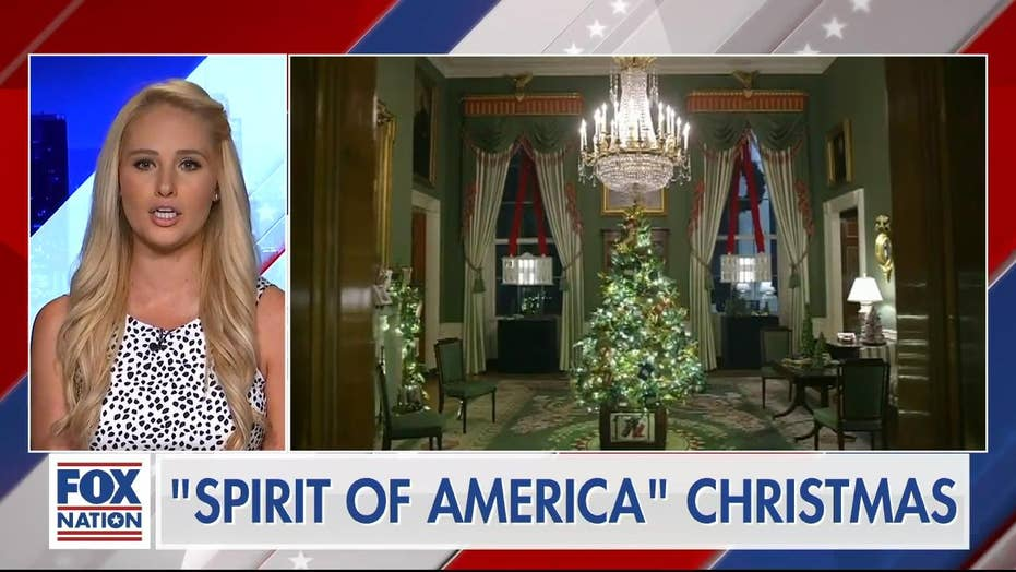 'Melania is a tough cookie': Fox hosts come to first lady's defense after attacks Christmas exhibit