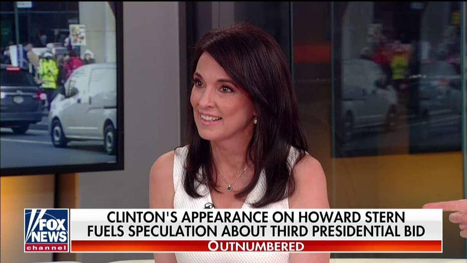 'Outnumbered' takes on Hillary's potential 2020 run: 'No Democrat' wants this