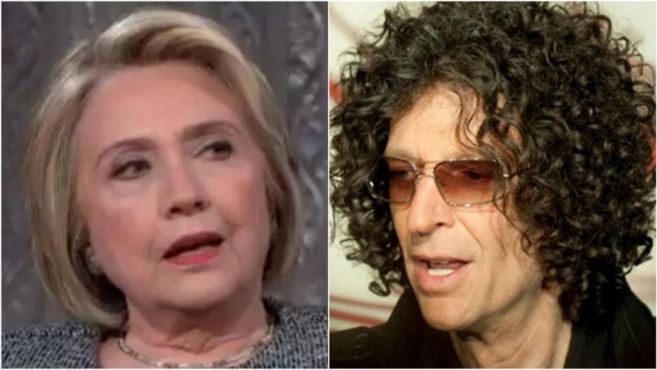 Hilary Clinton clears up 'lesbian' rumors with Howard Stern